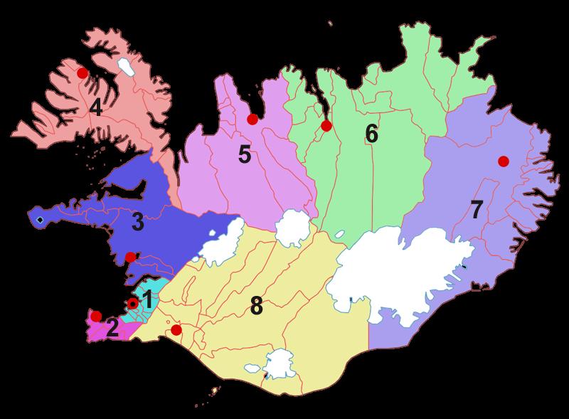 regions_of_iceland